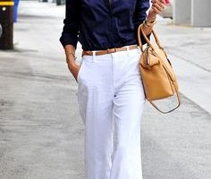 linen outfit